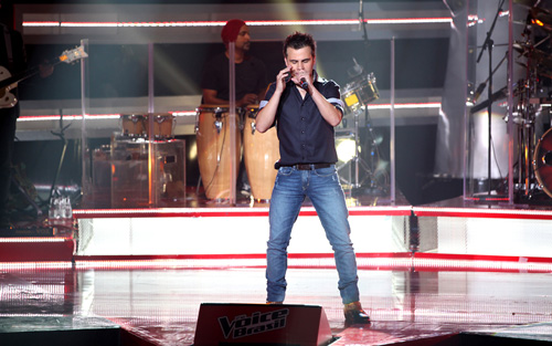 Danilo Dyba no The Voice Brasil.