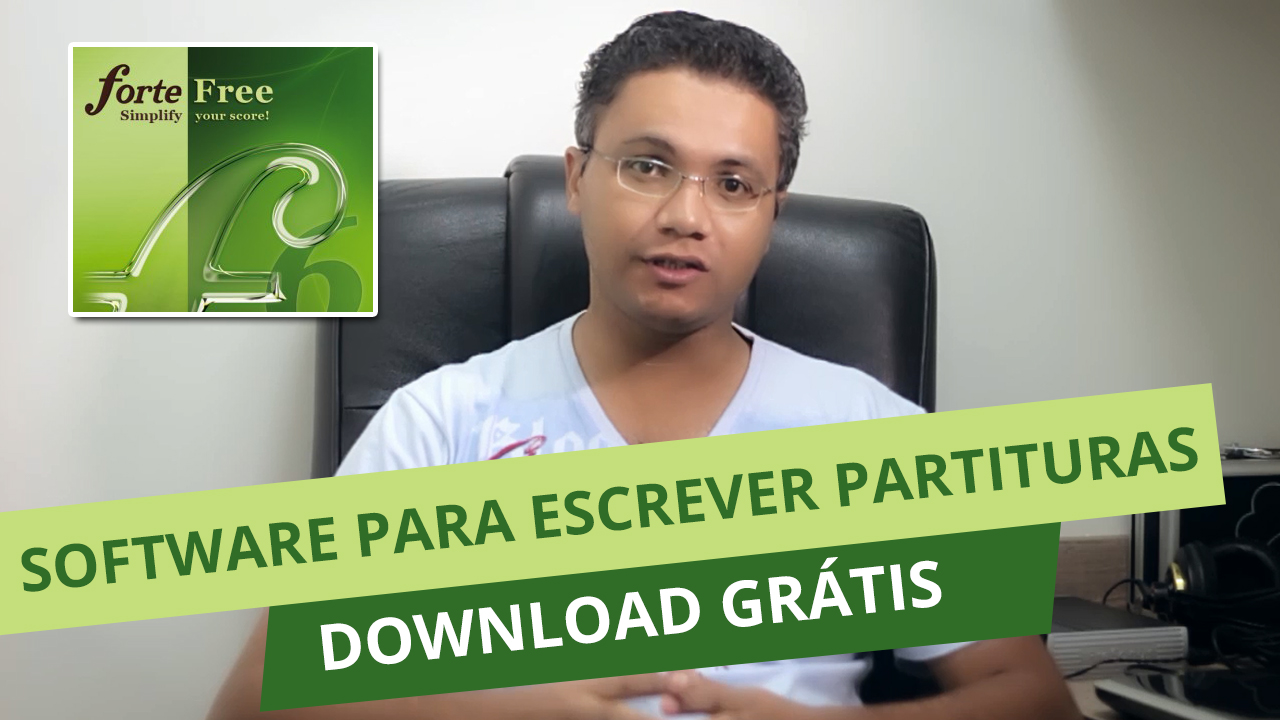Forte Notation – Software para Escrever Partituras – Download Grátis
